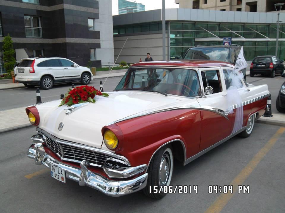 Kiralık klasik otomobiller