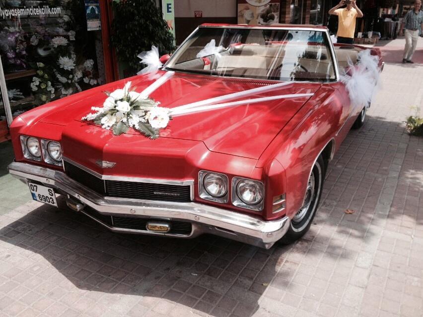 üstü Açık Klasik Araba Kiralama Antalya Davul Zurna